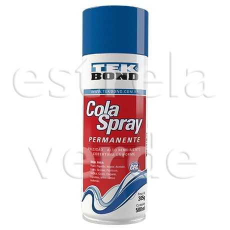 COLA SPRAY PERMANENTE 305GR/500ML  - Estrela Verde