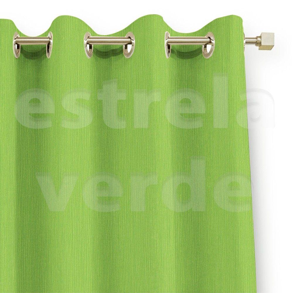 CORTA LUZ EM PVC LISO CINZA/VERDE LIMAO DESCONTINU  - Estrela Verde