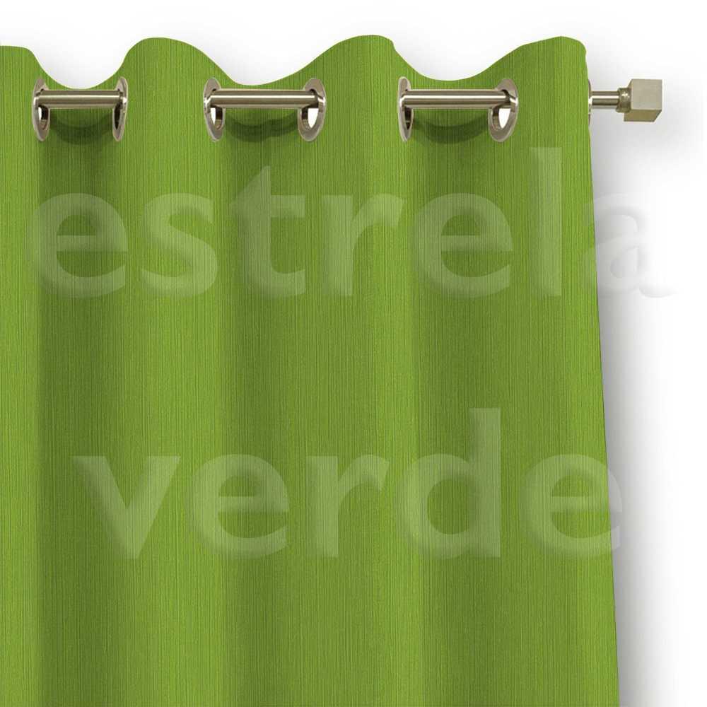 CORTA LUZ EM PVC LISO VERDE LIMAO/VERDE DESCONTINU  - Estrela Verde