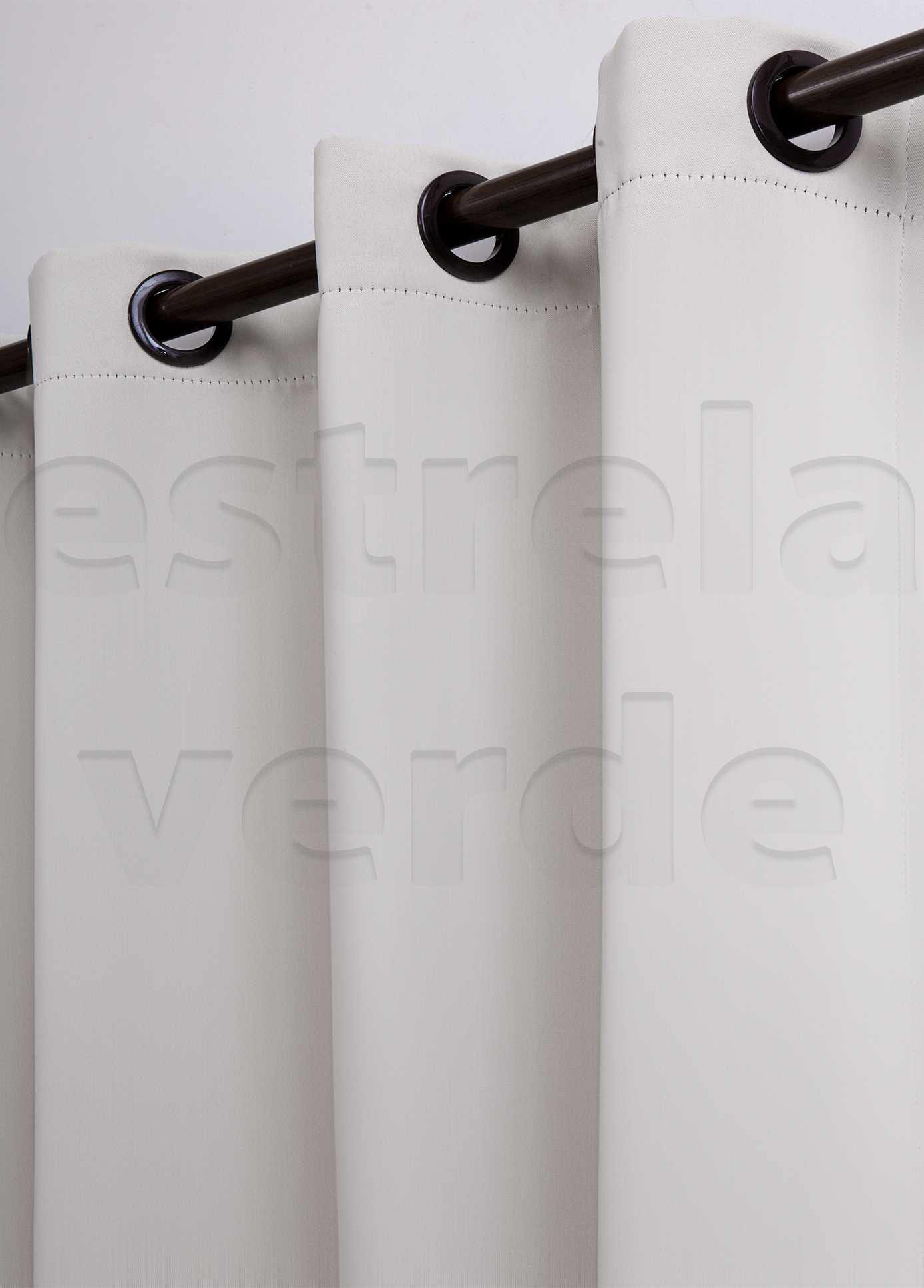 CORTINA BLACKOUT 2,60X2,30 6000 PALHA  - Estrela Verde