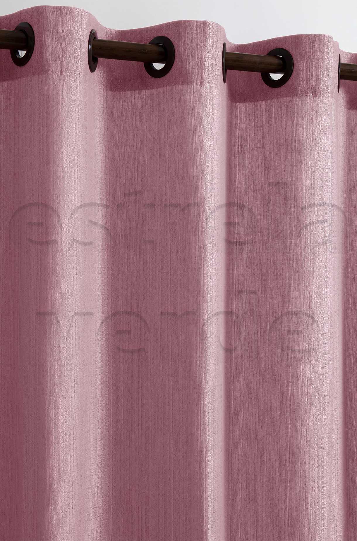 CORTINA VENEZA 2,60X1,70 5172 ROSE  - Estrela Verde