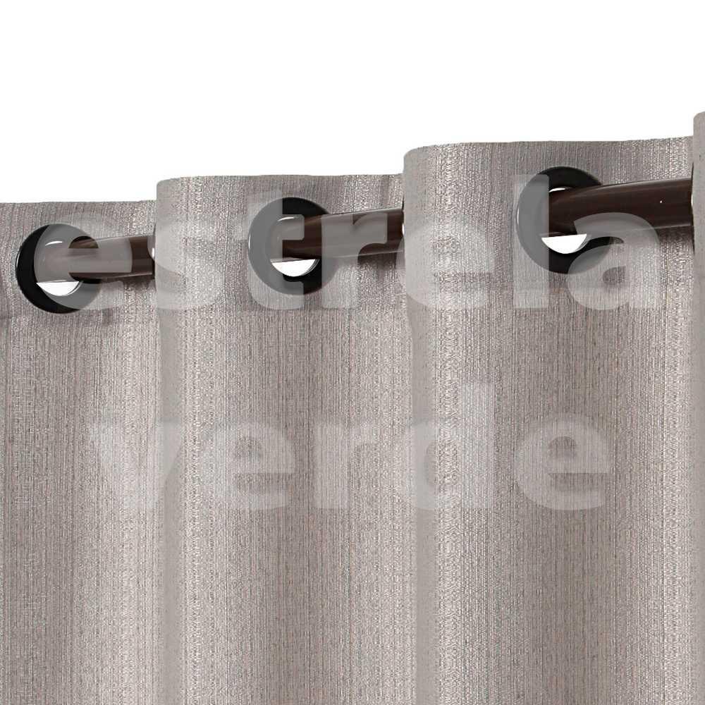 CORTINA VENEZA 2,60X2,30 8708 CINZA  - Estrela Verde