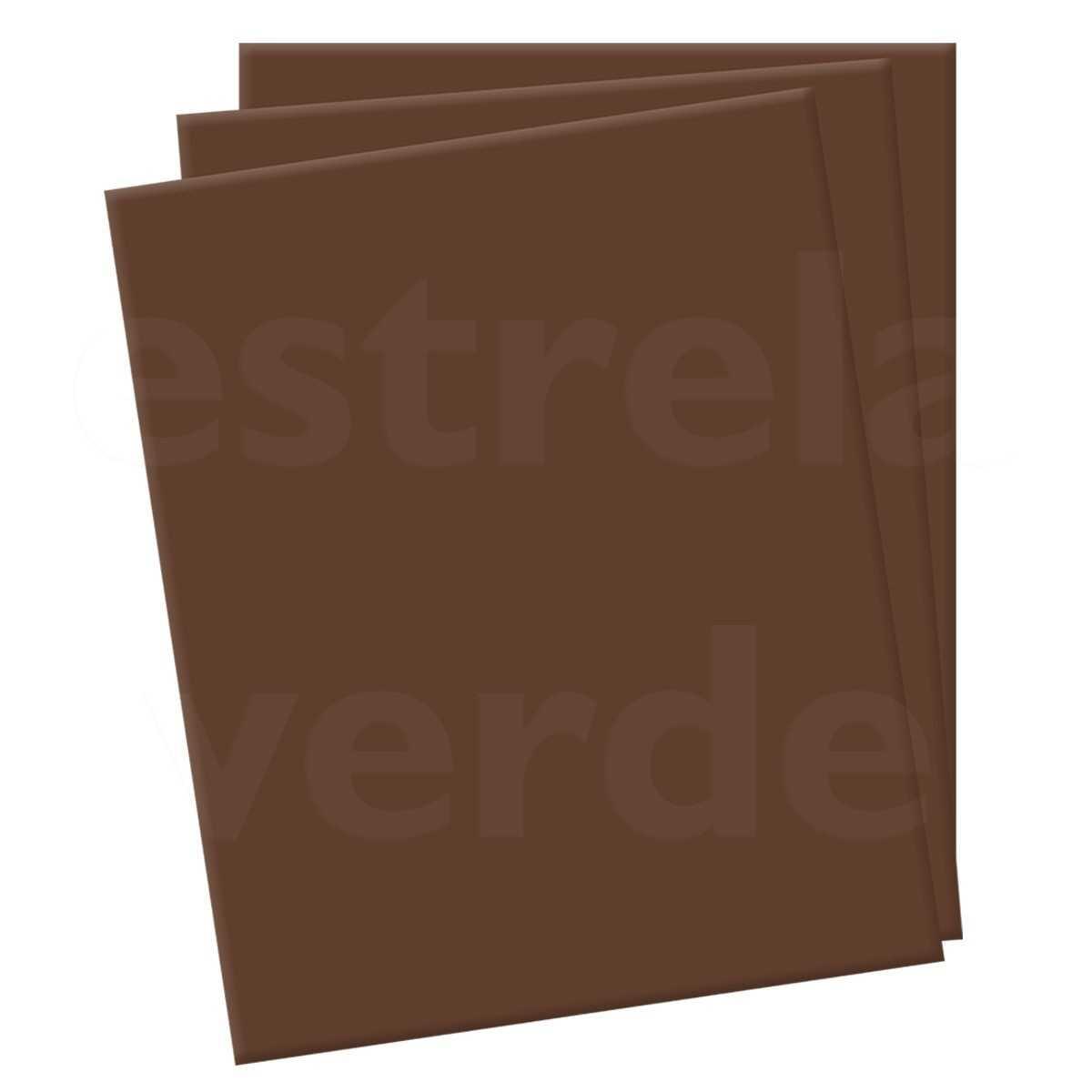 EVA 2MM MARROM (3818) EM METRO 1,42 LARG  - Estrela Verde