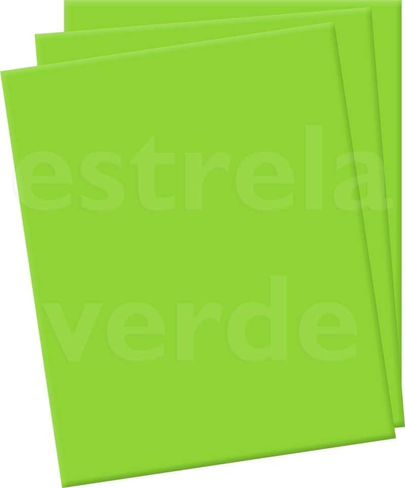 EVA 2MM VERDE CITRICO (3318) EM METRO 1,42 LARG  - Estrela Verde