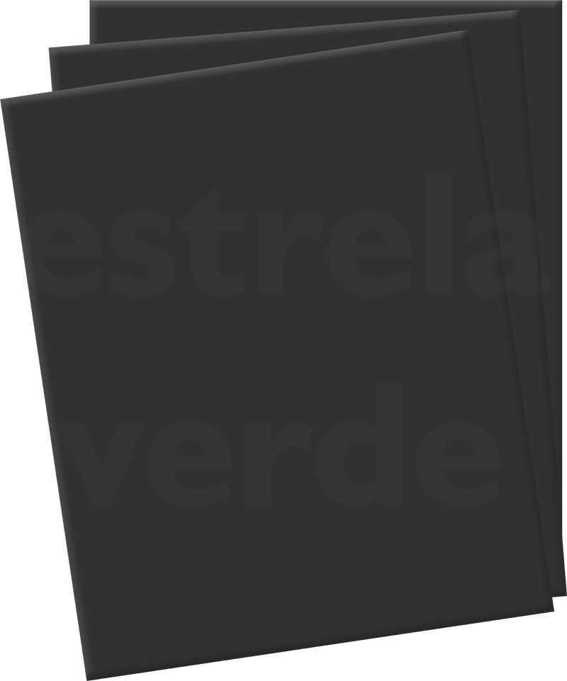 EVA 6MM PRETO EM METRO  - Estrela Verde