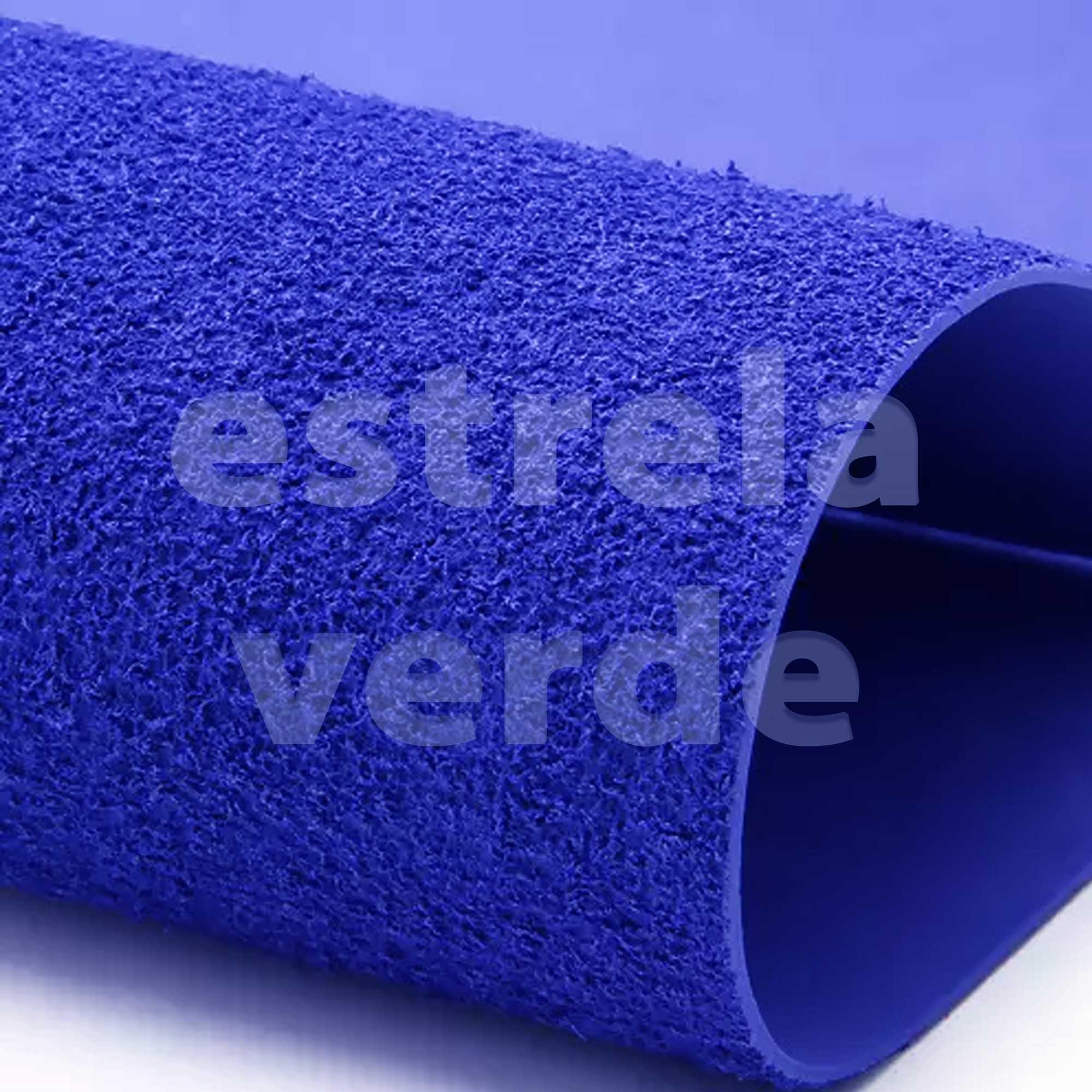 EVA ATOALHADO 40X60 AZUL ROYAL 2MM  - Estrela Verde
