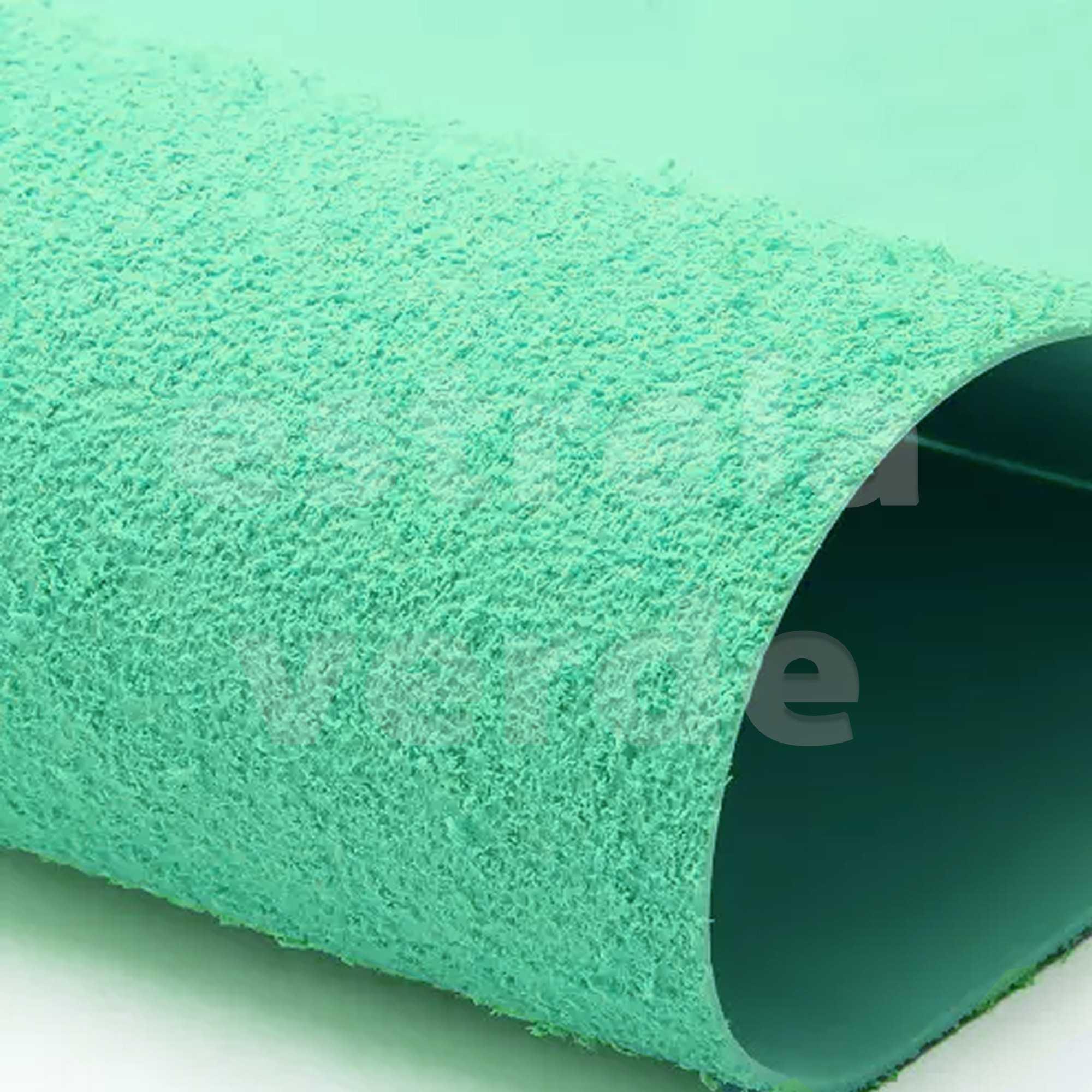 EVA ATOALHADO 40X60 VERDE CLARO 2MM  - Estrela Verde