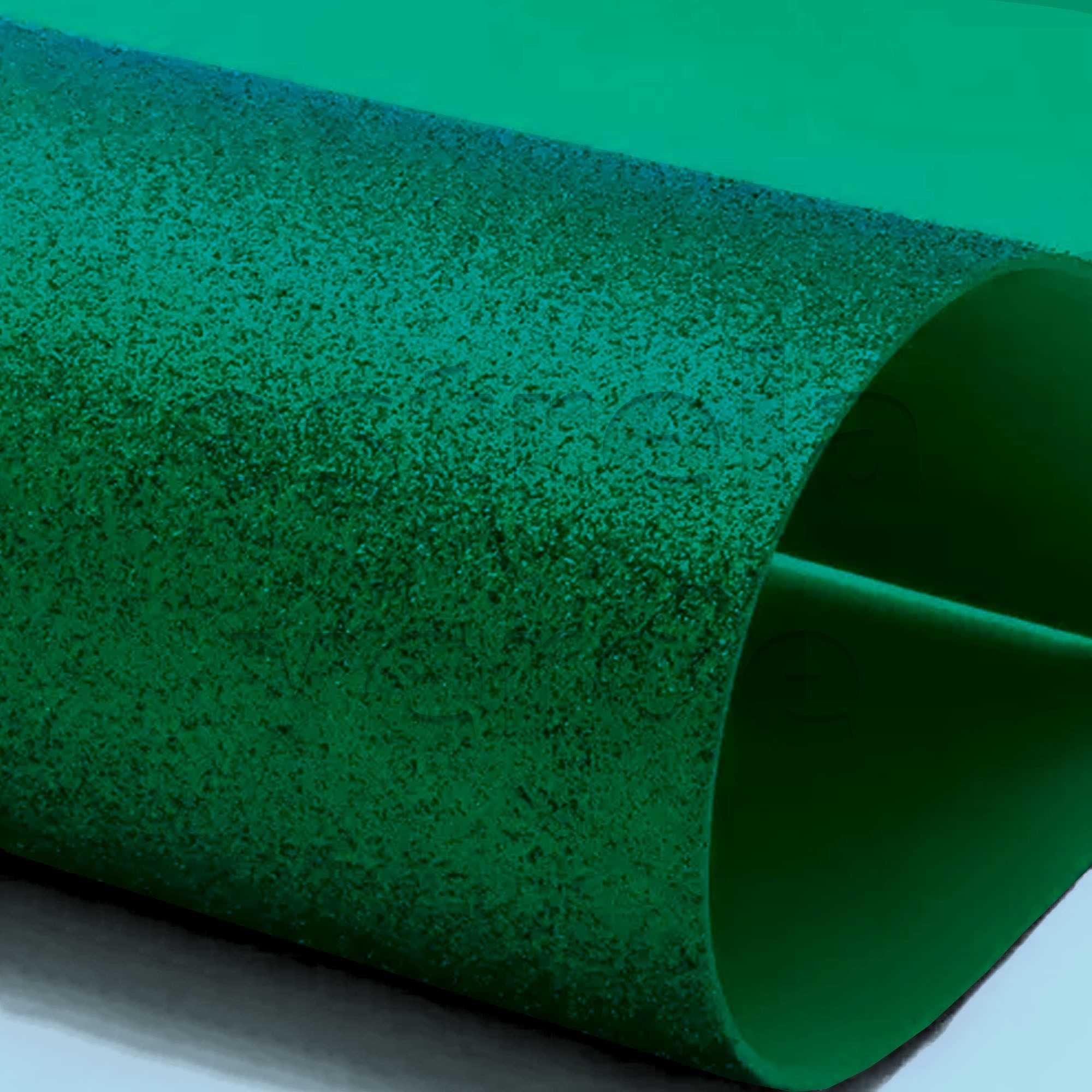 EVA GLITTER 40X60 VERDE 2MM  - Estrela Verde