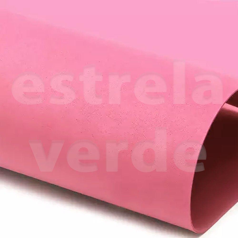 EVA PLACA 25X35 ROSA CLARO  - Estrela Verde