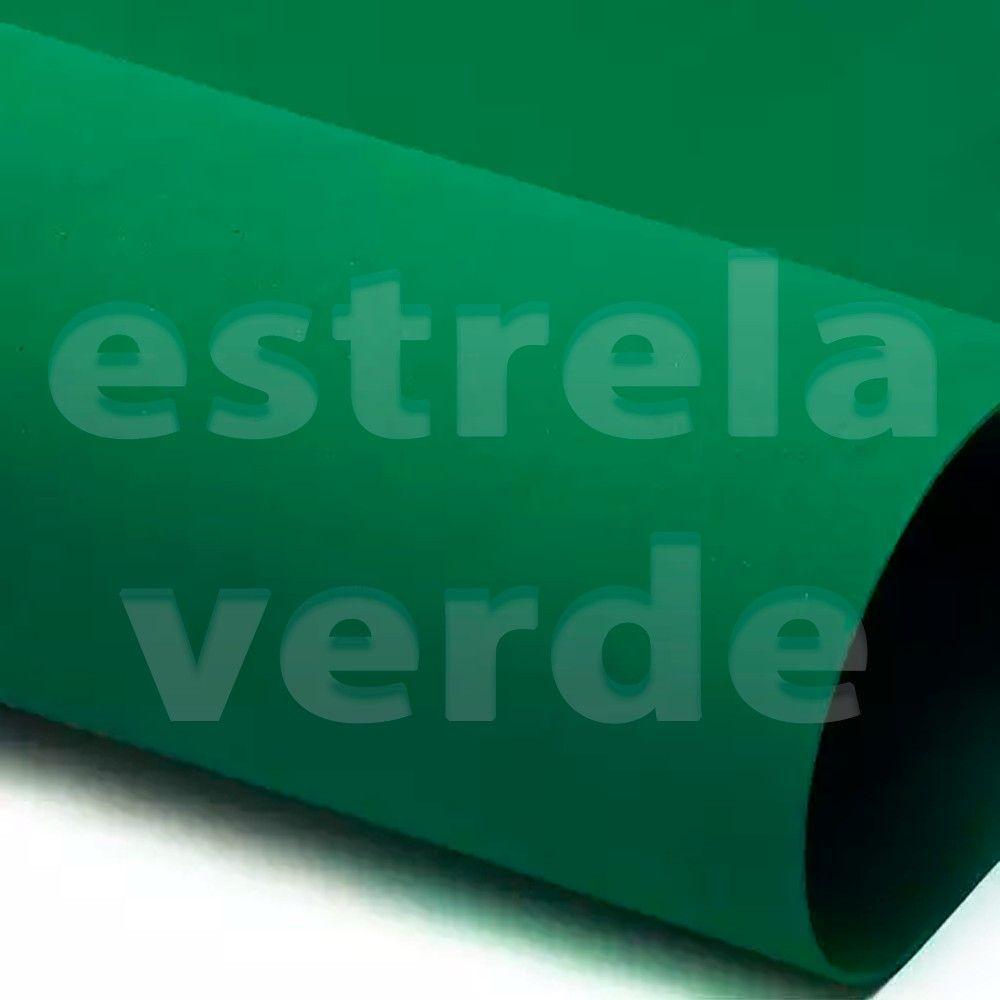 EVA PLACA 25X35 VERDE BANDEIRA  - Estrela Verde