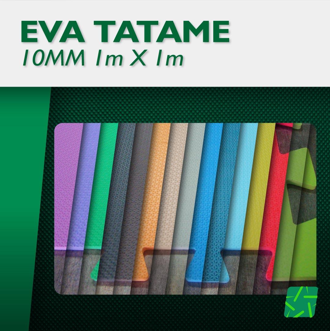 EVA TATAME 10MM  - Estrela Verde