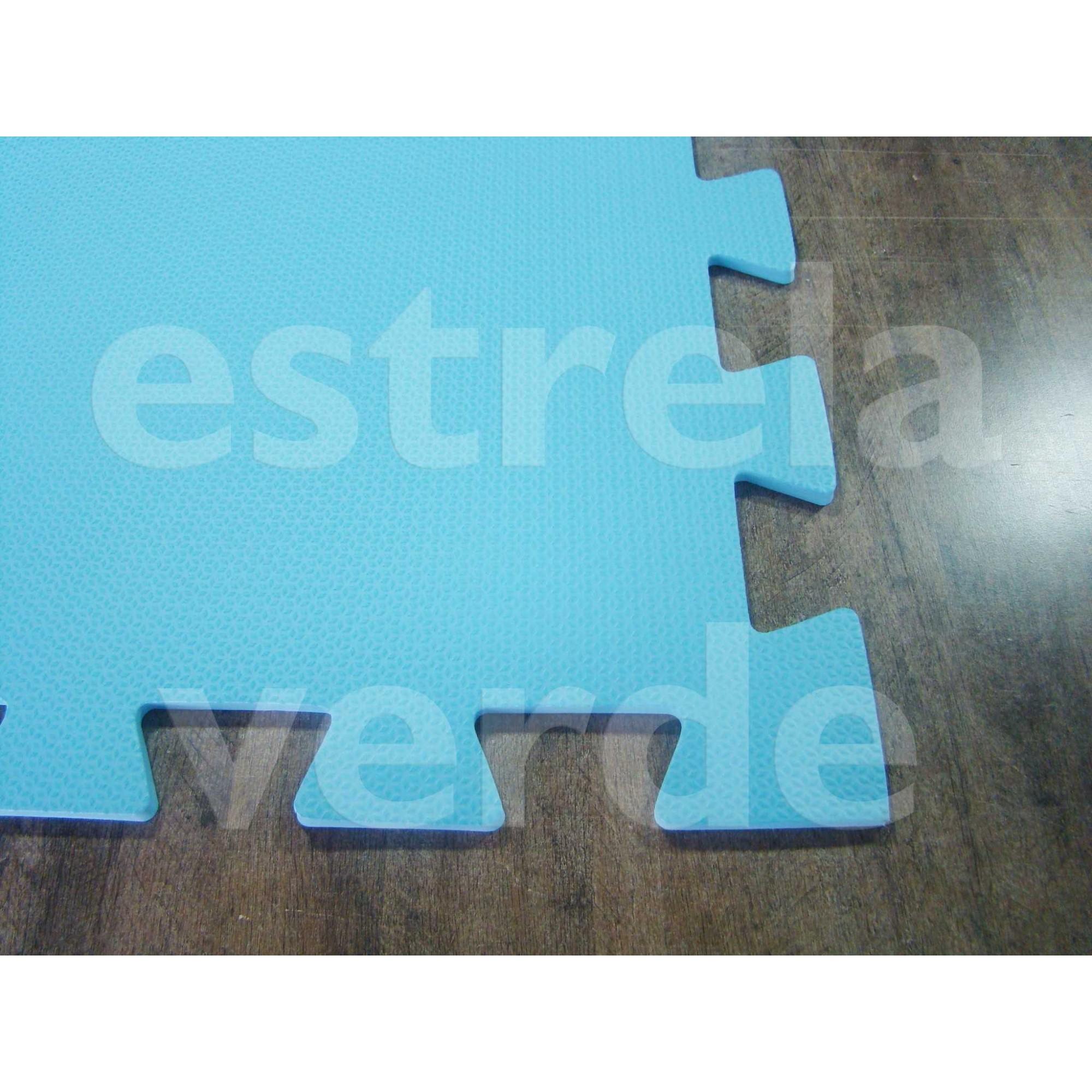 EVA TATAME 10MM AZUL CLARO  - Estrela Verde