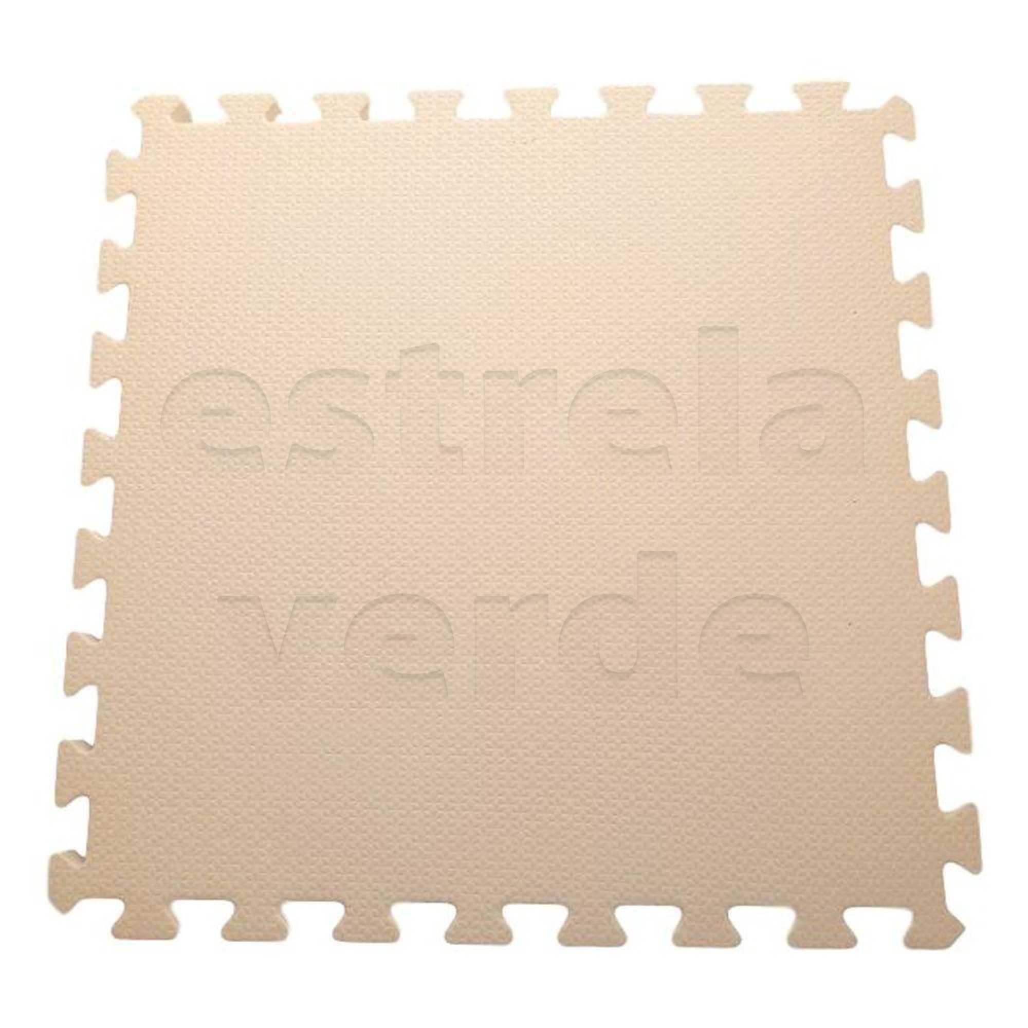 EVA TATAME 10MM CREME  - Estrela Verde