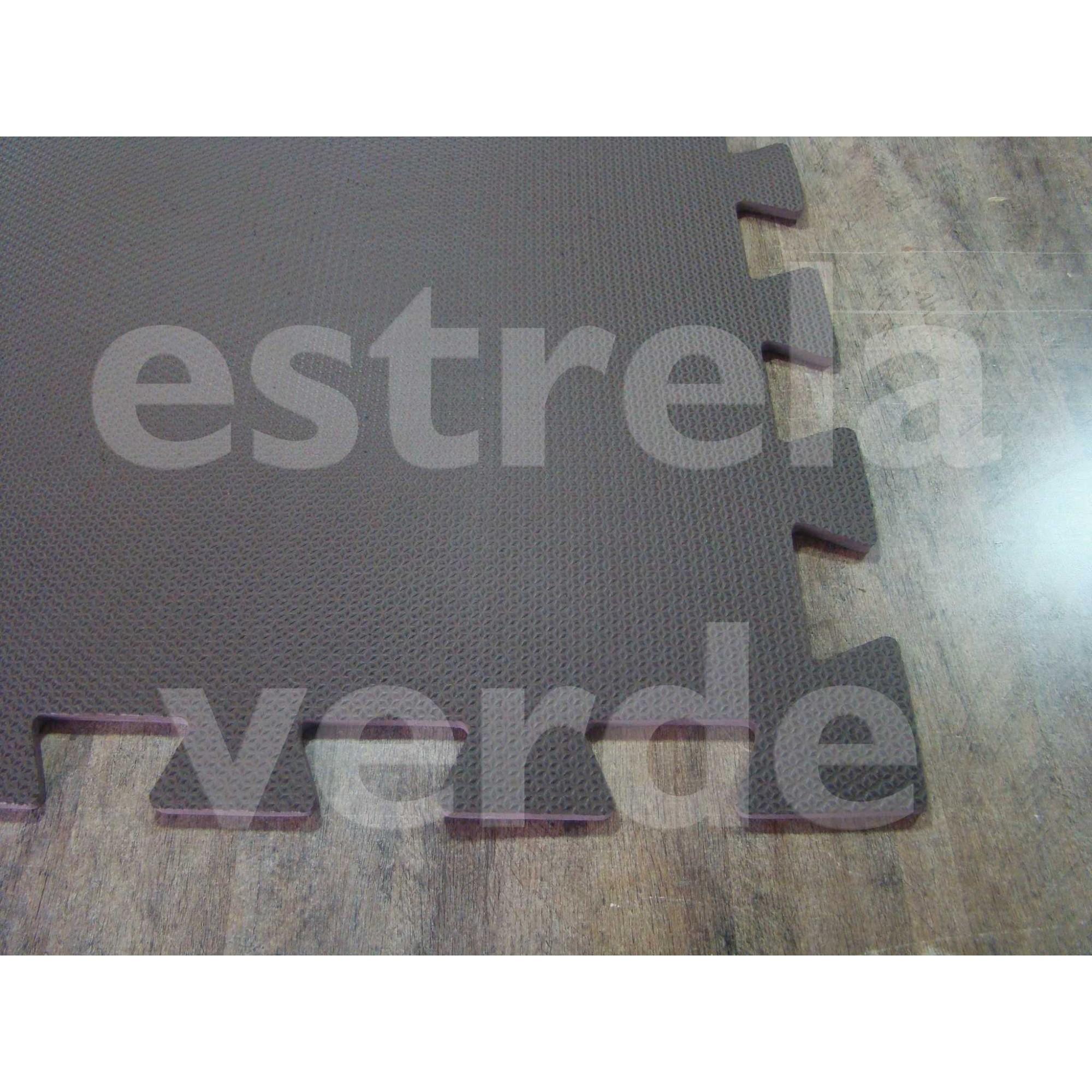EVA TATAME 10MM MARROM  - Estrela Verde