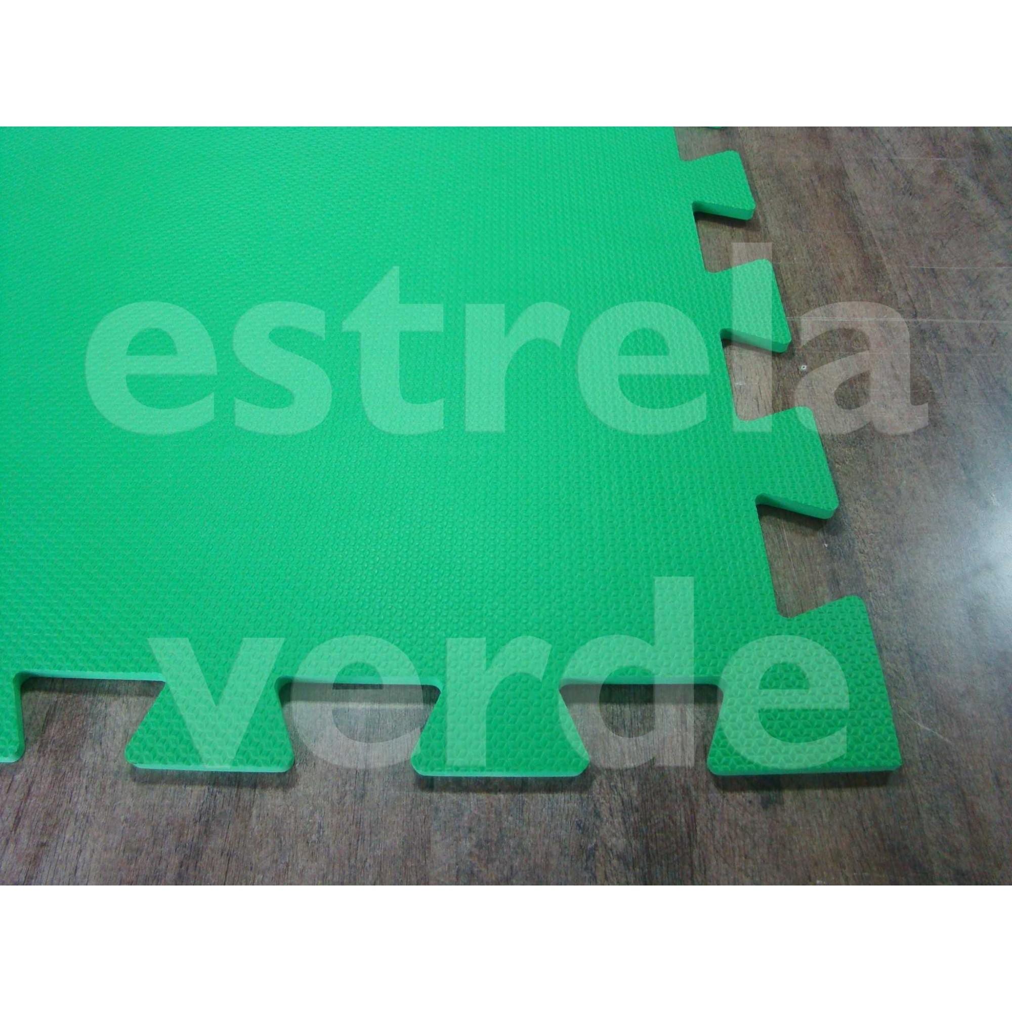 EVA TATAME 10MM VERDE BANDEIRA  - Estrela Verde