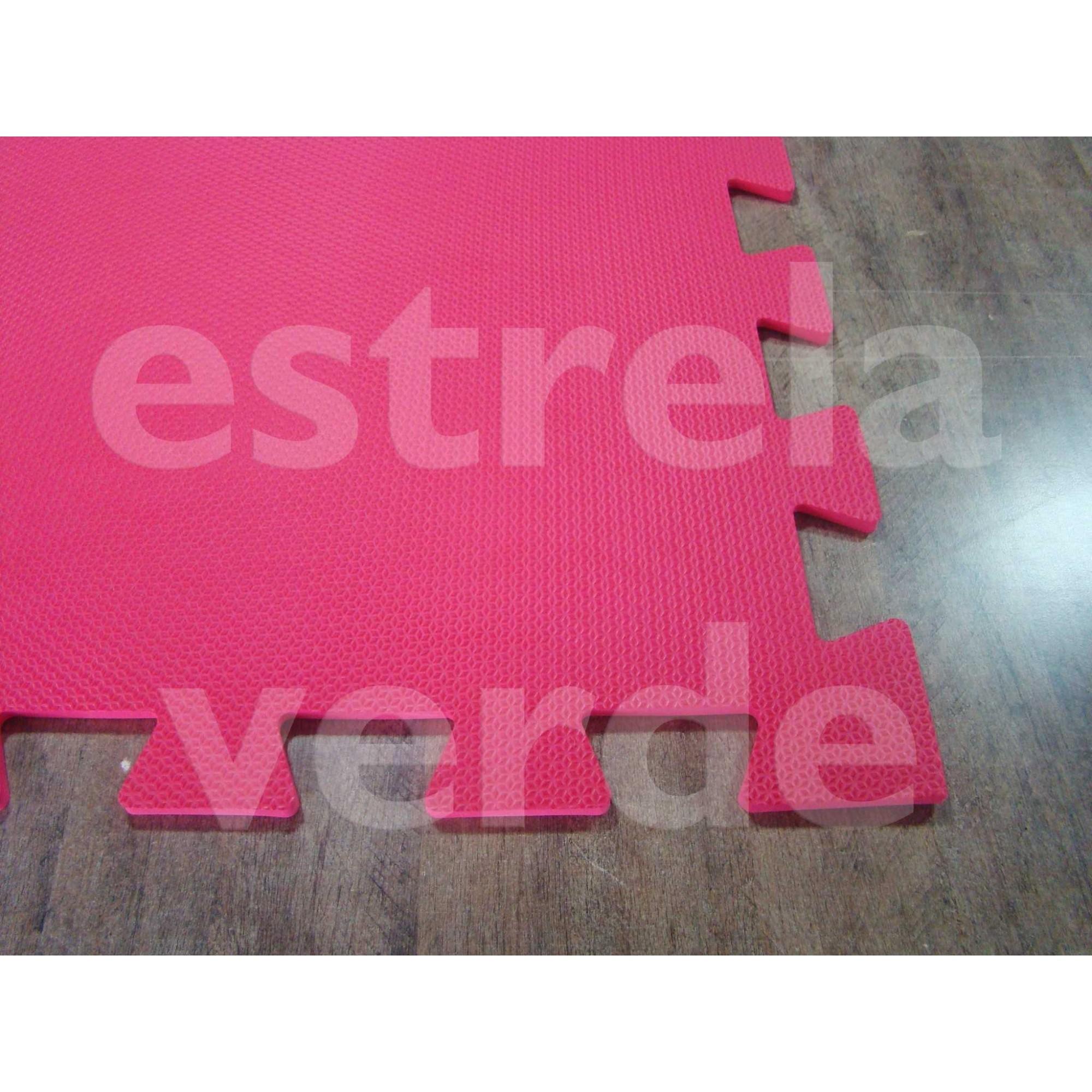 EVA TATAME 10MM VERMELHO  - Estrela Verde