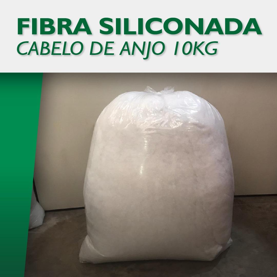 FIBRA SILICONADA CABELO DE ANJO BRANCA 10KG  - Estrela Verde
