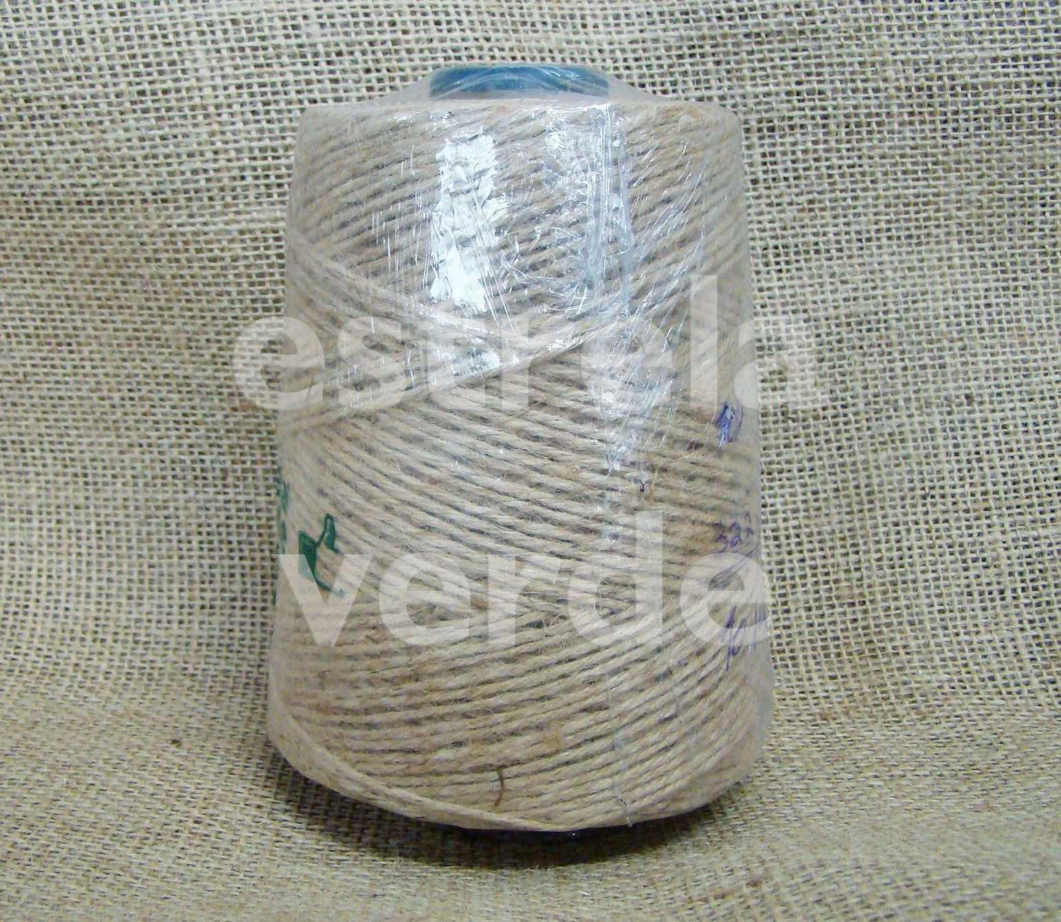 FIO DE JUTA CRU 10/04 LBS 500GR  - Estrela Verde