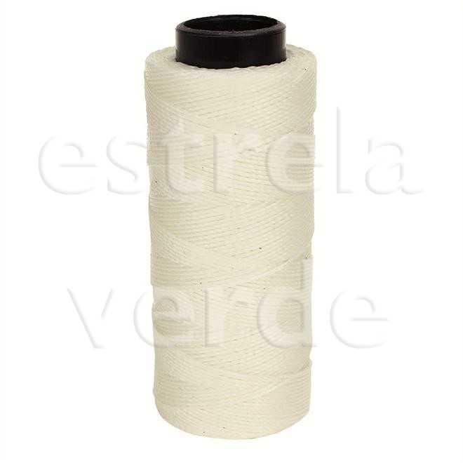 FIO ENCERADO N.4 NATURAL/0001 ±160M 100GR  - Estrela Verde