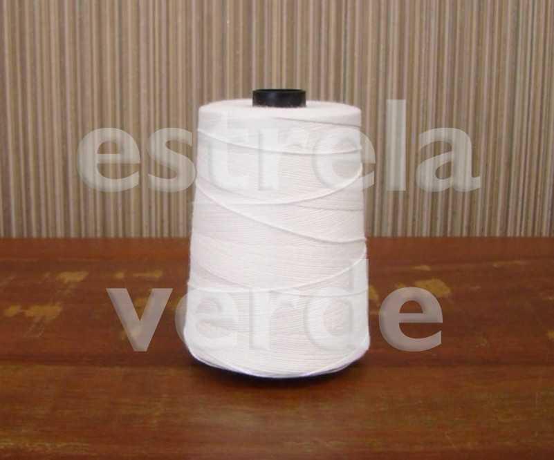 FIO POLIESTER P/ COSTURAR SACOS 250GR  - Estrela Verde