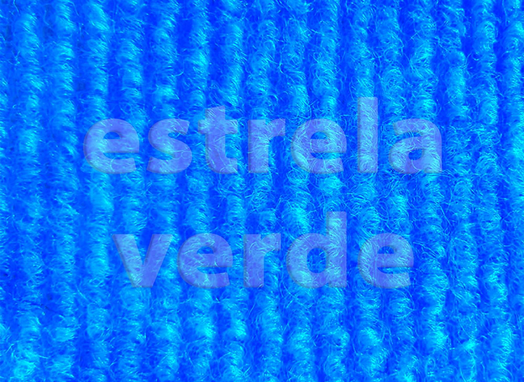FORRACAO AZUL TURQUESA LOOP (434) 2,00 LARG  - Estrela Verde