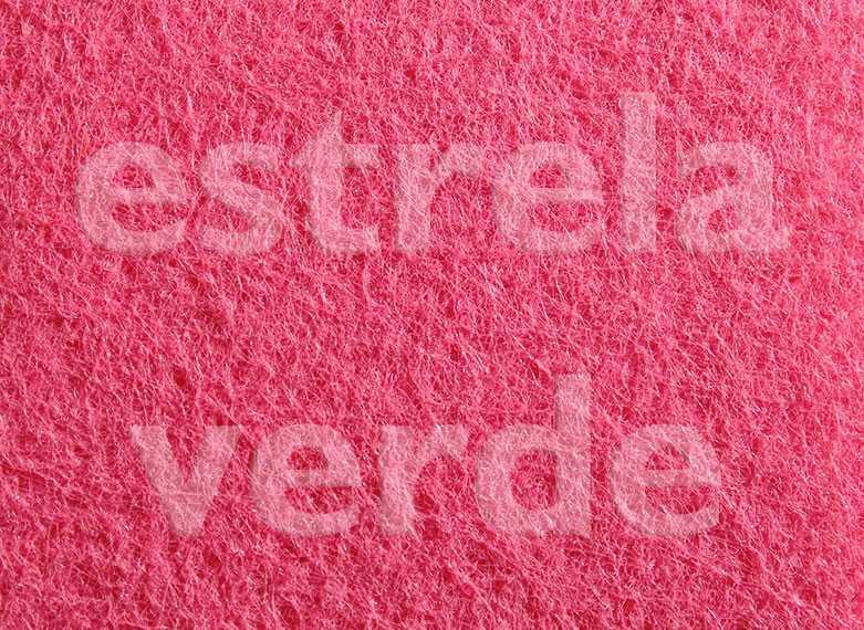 FORRACAO ROSA C/ RESINA LISA (255) 2,00 LARG  - Estrela Verde