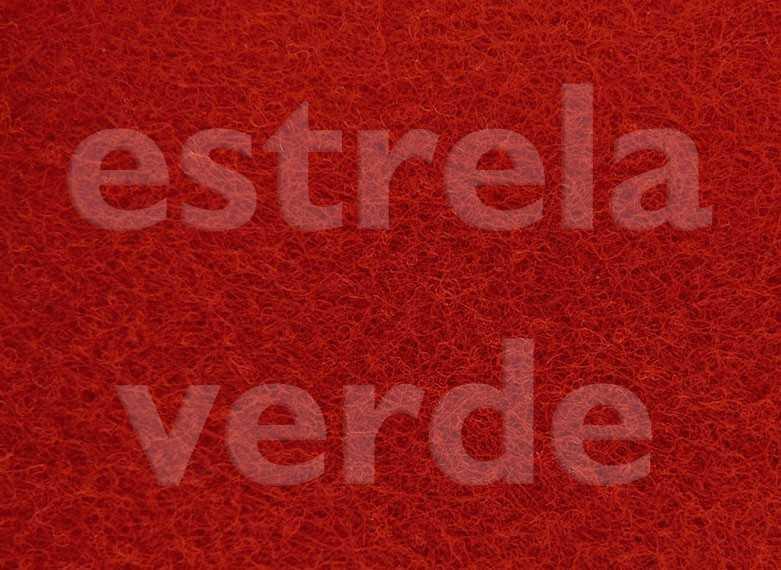 FORRACAO VERMELHO C/ RESINA LISA (210) 2,00 LARG  - Estrela Verde