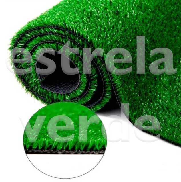 GRAMA SINTETICA 2,00 LARG  - Estrela Verde