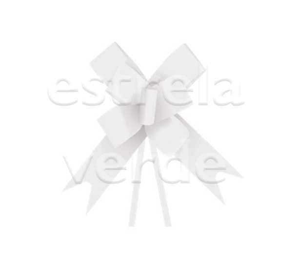 LACO PRONTO/LISO BRANCO 23MM 10UN  - Estrela Verde
