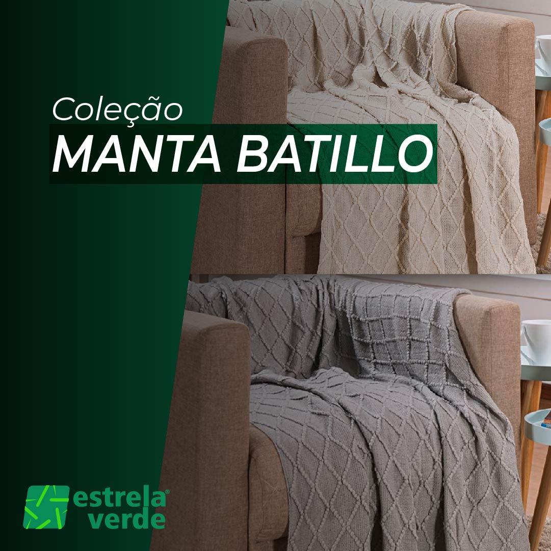 MANTA BATILLO 1,25 X 1,50  - Estrela Verde