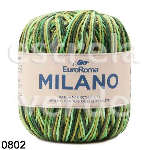 NOVELO N6 ESMERALDA 802 MULTICOLORIDO 200GR 226M  - Estrela Verde