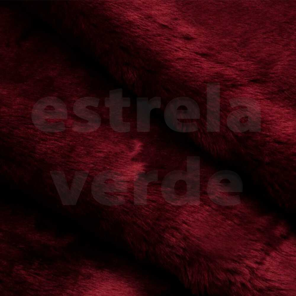 PELUCIA FIO CURTO MARSALA GRANATE 073 12MM 1,60  - Estrela Verde