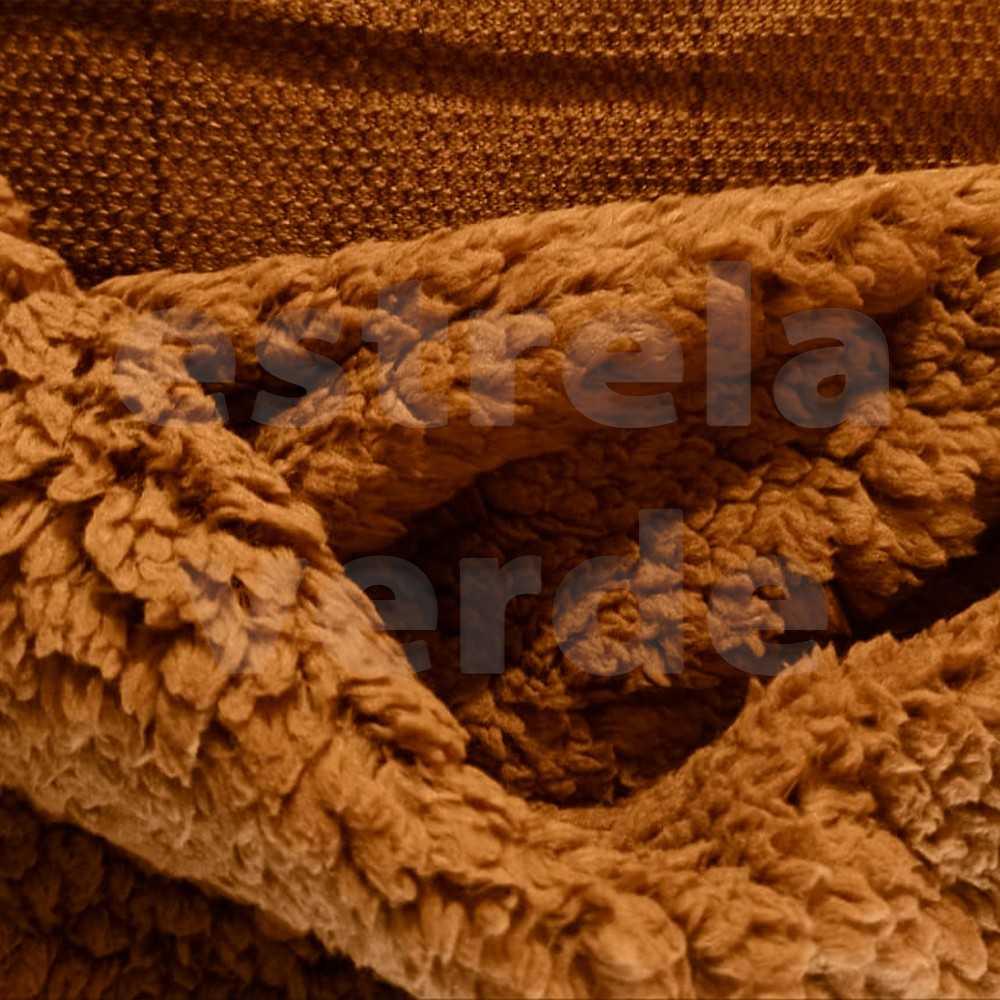 PELUCIA SHERPA 832 MARROM 1,50LARG DESCONTINUADO  - Estrela Verde