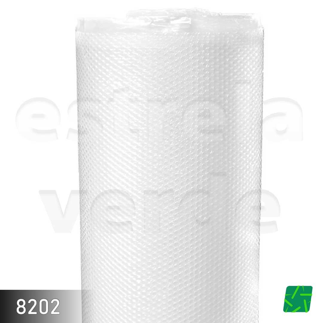 PLASTICO BOLHA TRANSPARENTE 1,20CMX100MX0,02MM  - Estrela Verde