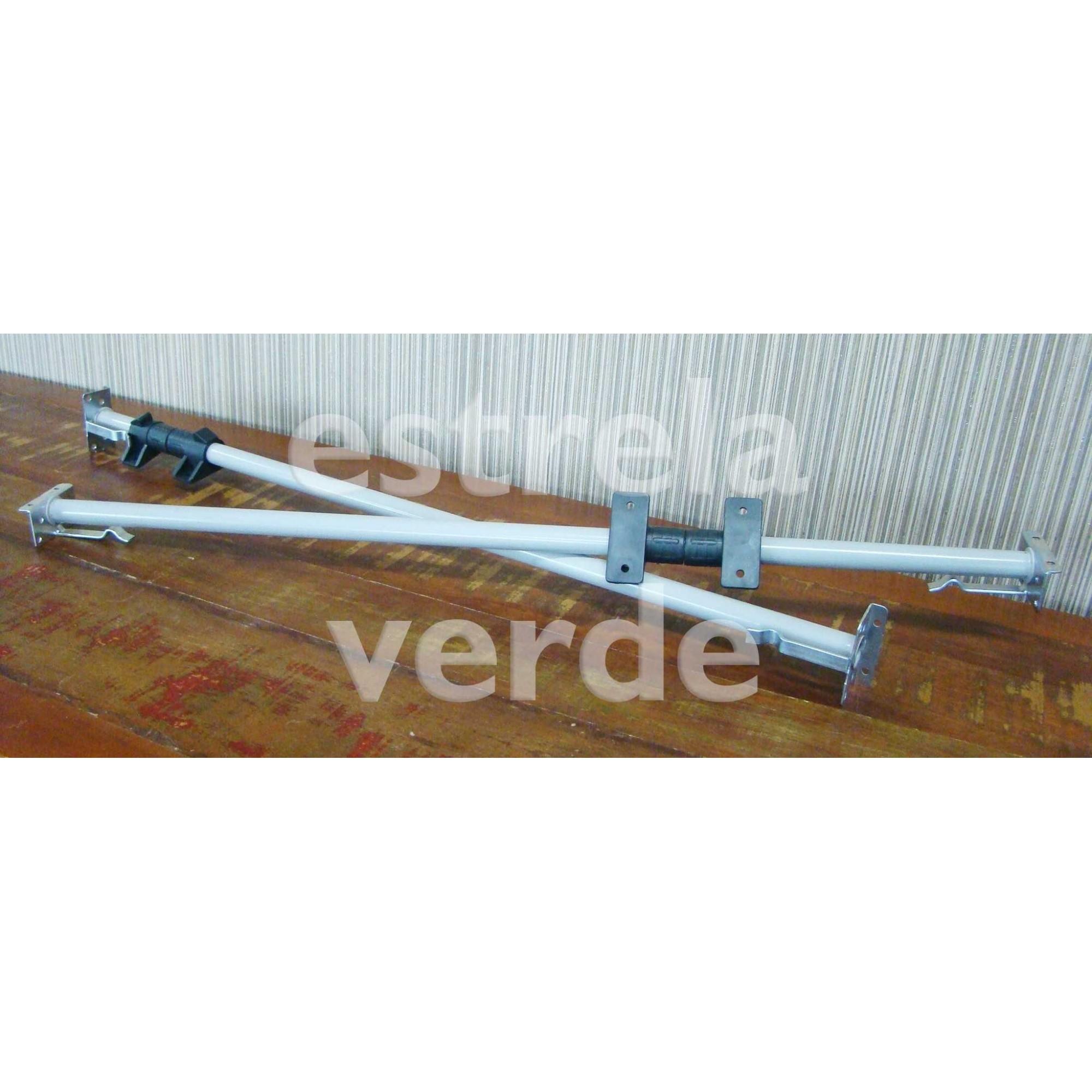RETRATIL TUBO CANHAO 7/8 850MM PAR  - Estrela Verde