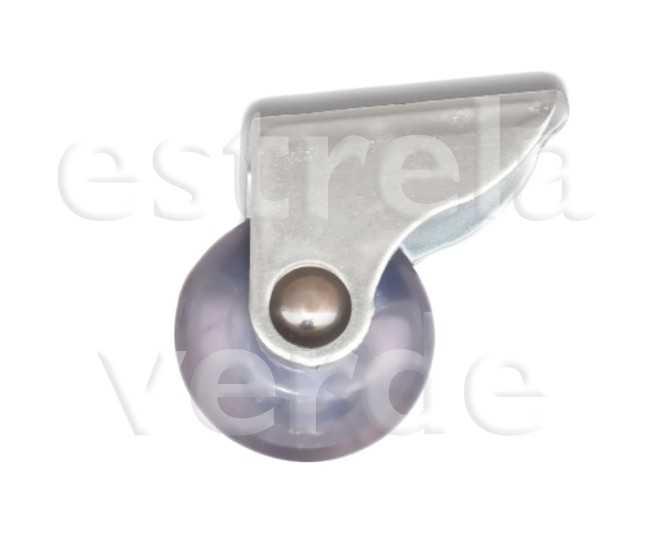 RODIZIO PVC CRISTAL N.3,8  - Estrela Verde