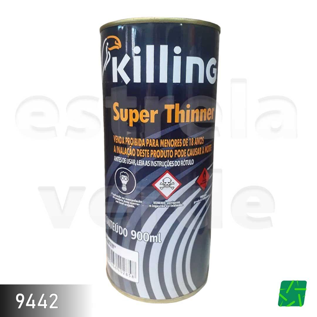 SUPER THINNER KILLING 900ML  - Estrela Verde