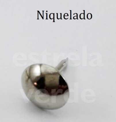 TACHAS CRAVO 100/15 FERRO NIQUELADO FN 1000 UN  - Estrela Verde