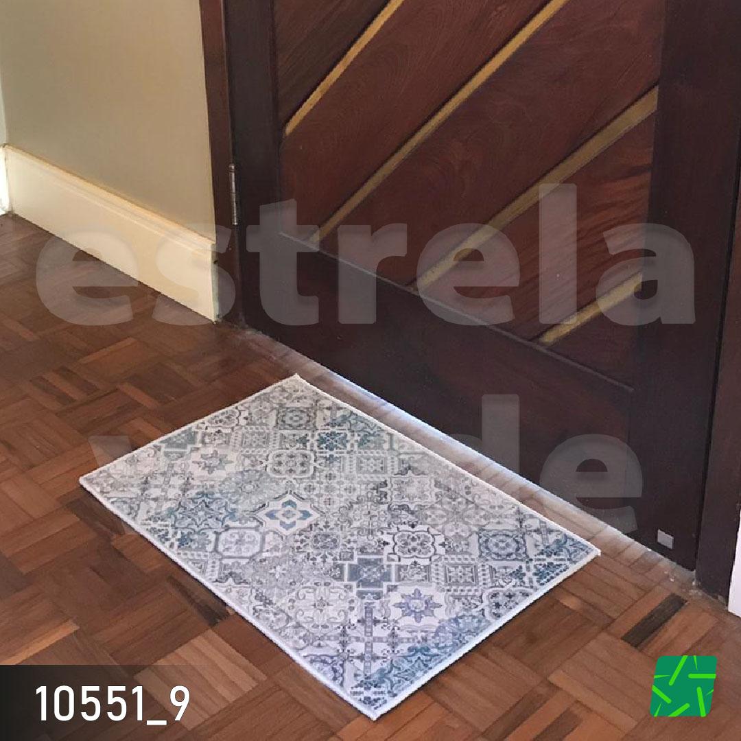 TAPETE 3D 0,40 X 0,60  - Estrela Verde