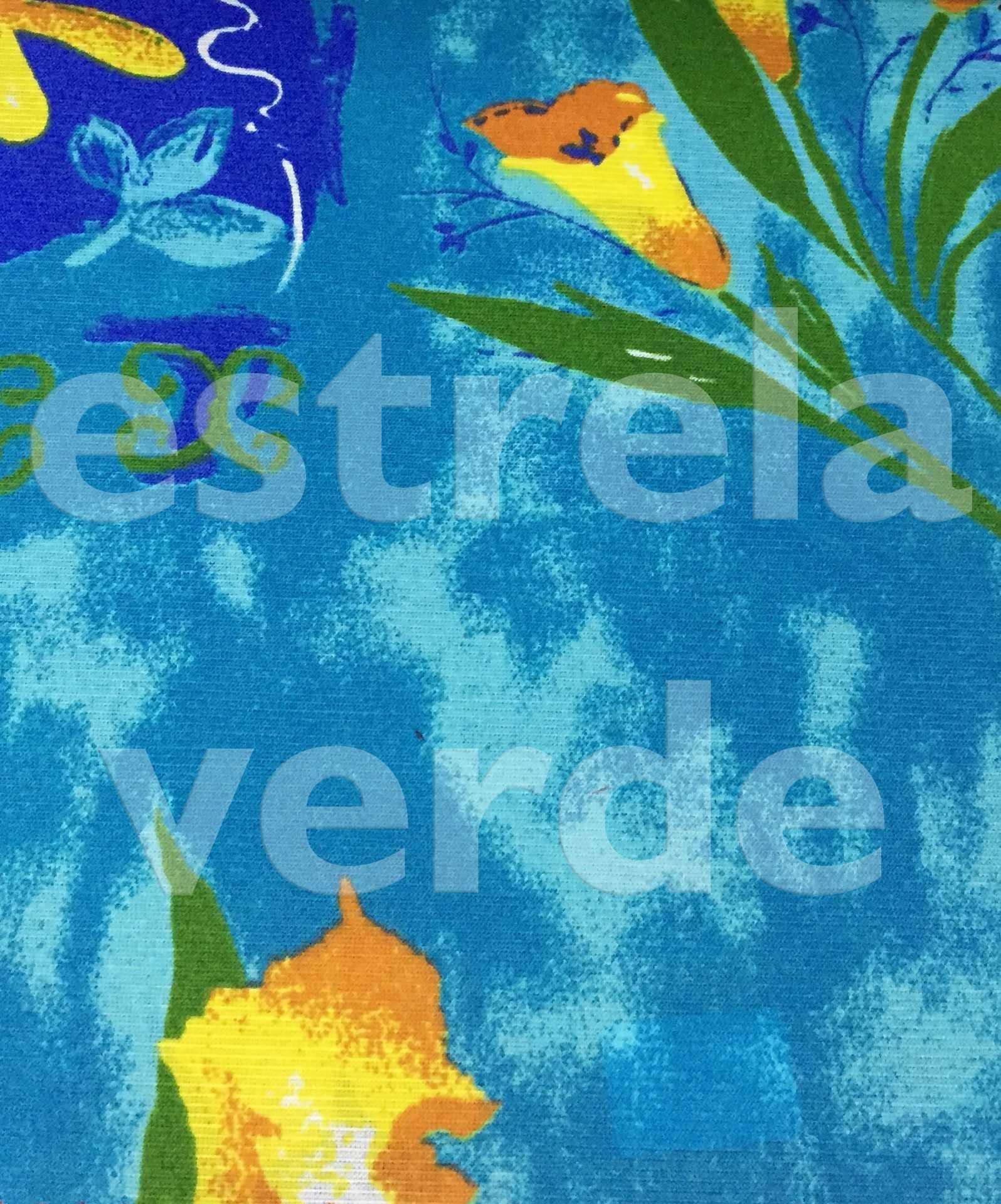 TECIDO GORGURINHO CELESTE (40-6199-05) 1,50 LARG  - Estrela Verde
