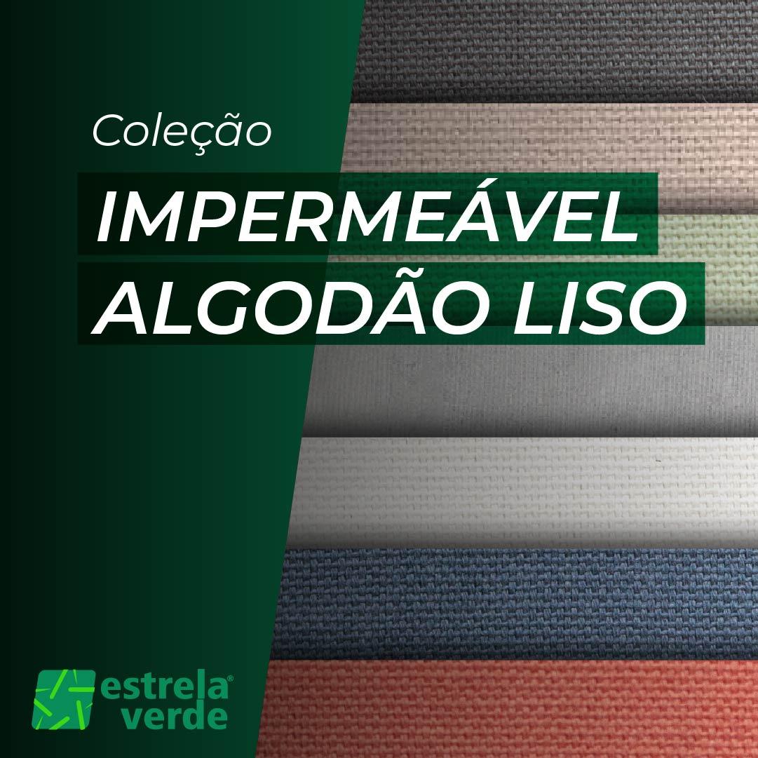 TECIDO IMPERMEAVEL ALGODAO LISO 1,40 LARG  - Estrela Verde