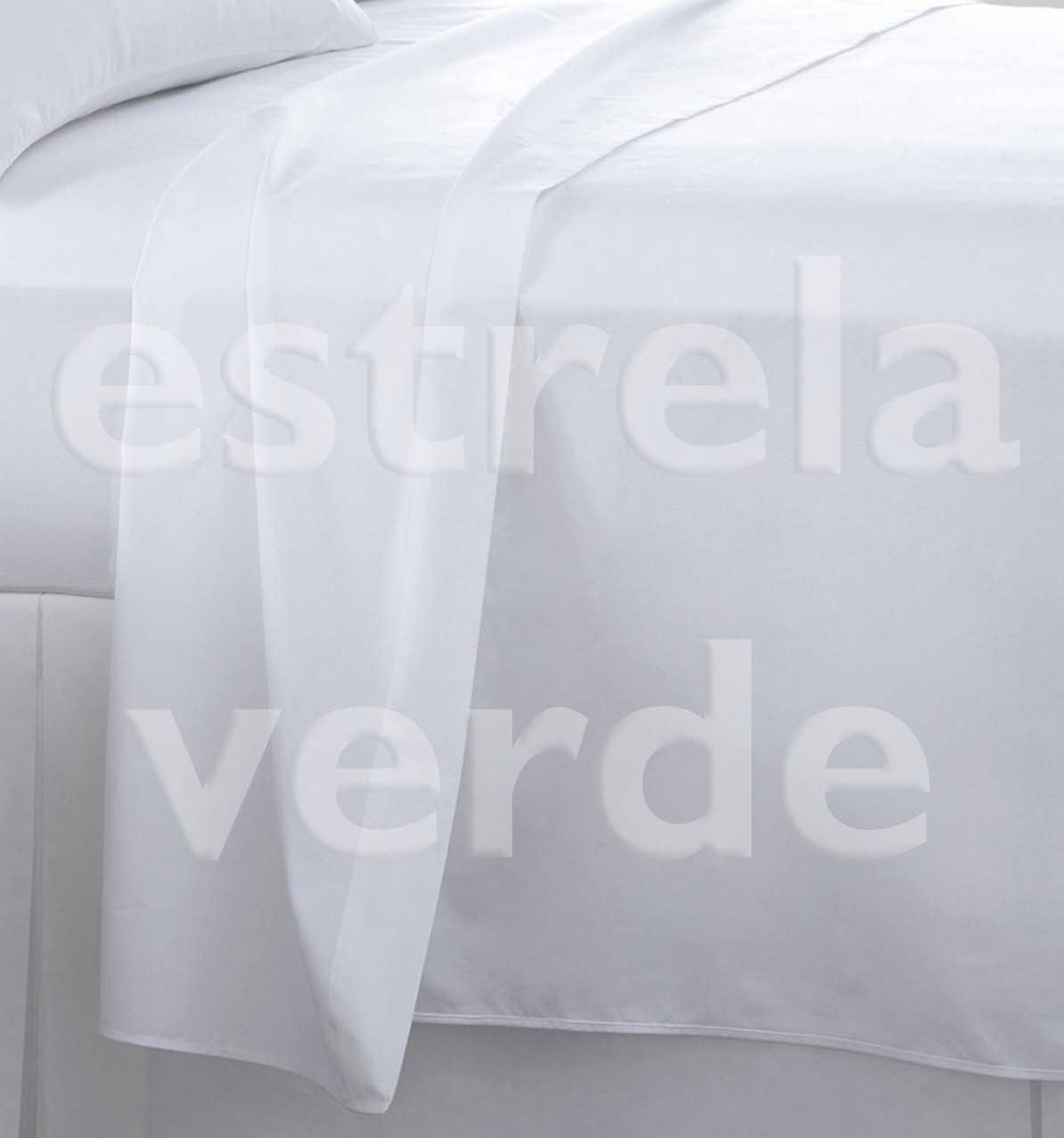 TECIDO LENCOL PERCAL BRANCO 230 FIOS 2,50 LARG  - Estrela Verde