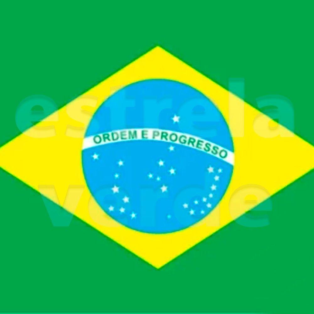 TNT BANDEIRA DO BRASIL TORCIDA  - Estrela Verde