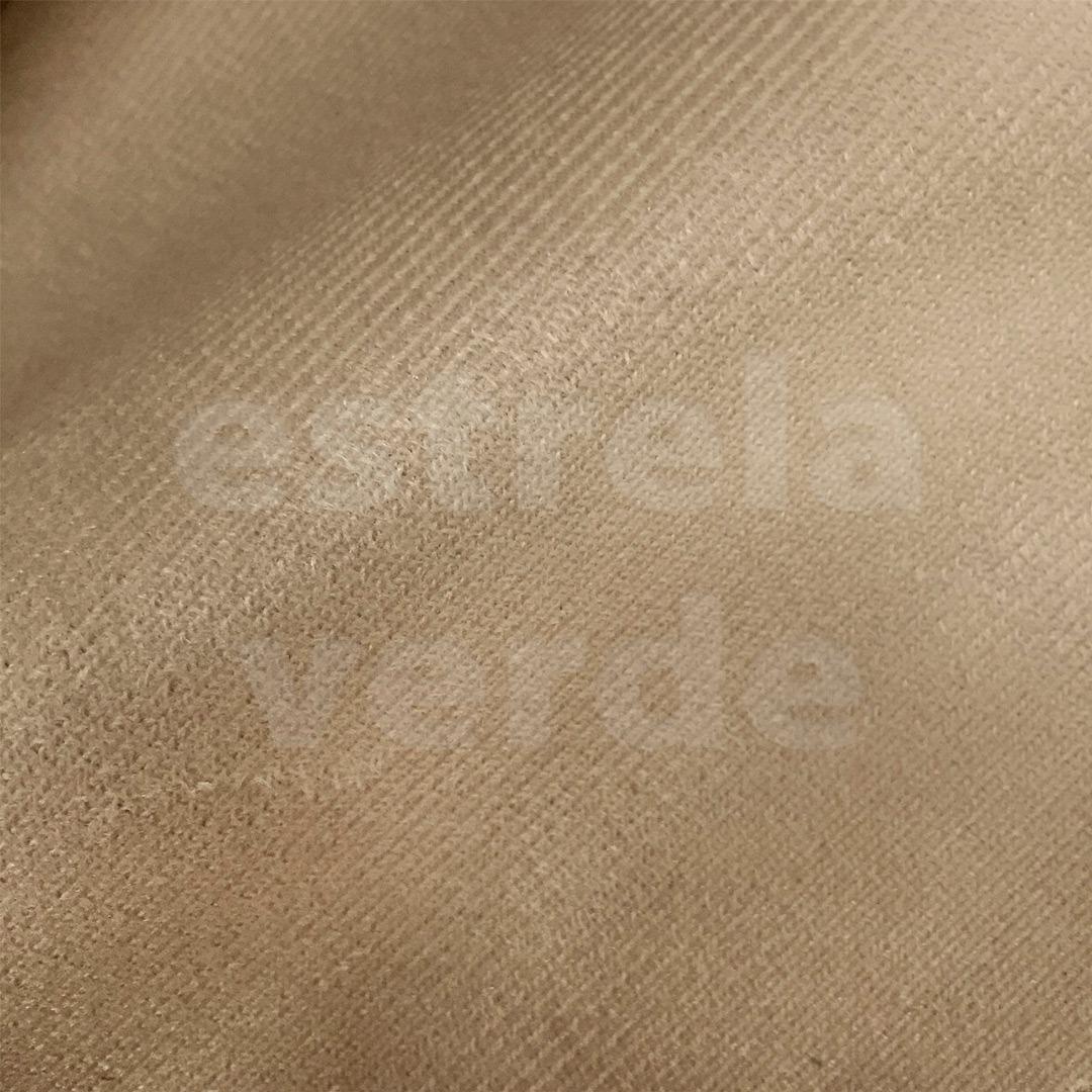 VELUDINHO BEGE CLARO 02  - Estrela Verde