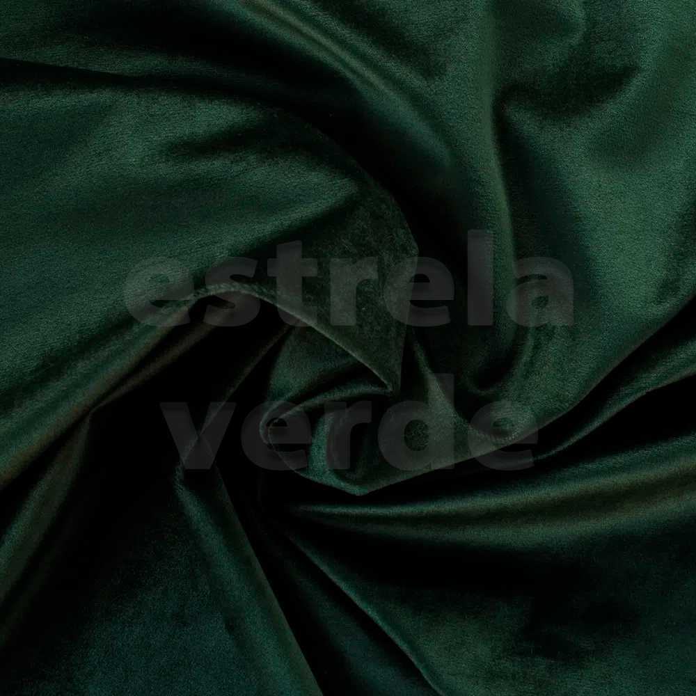 VELUDO VERDE ESCURO 11  - Estrela Verde