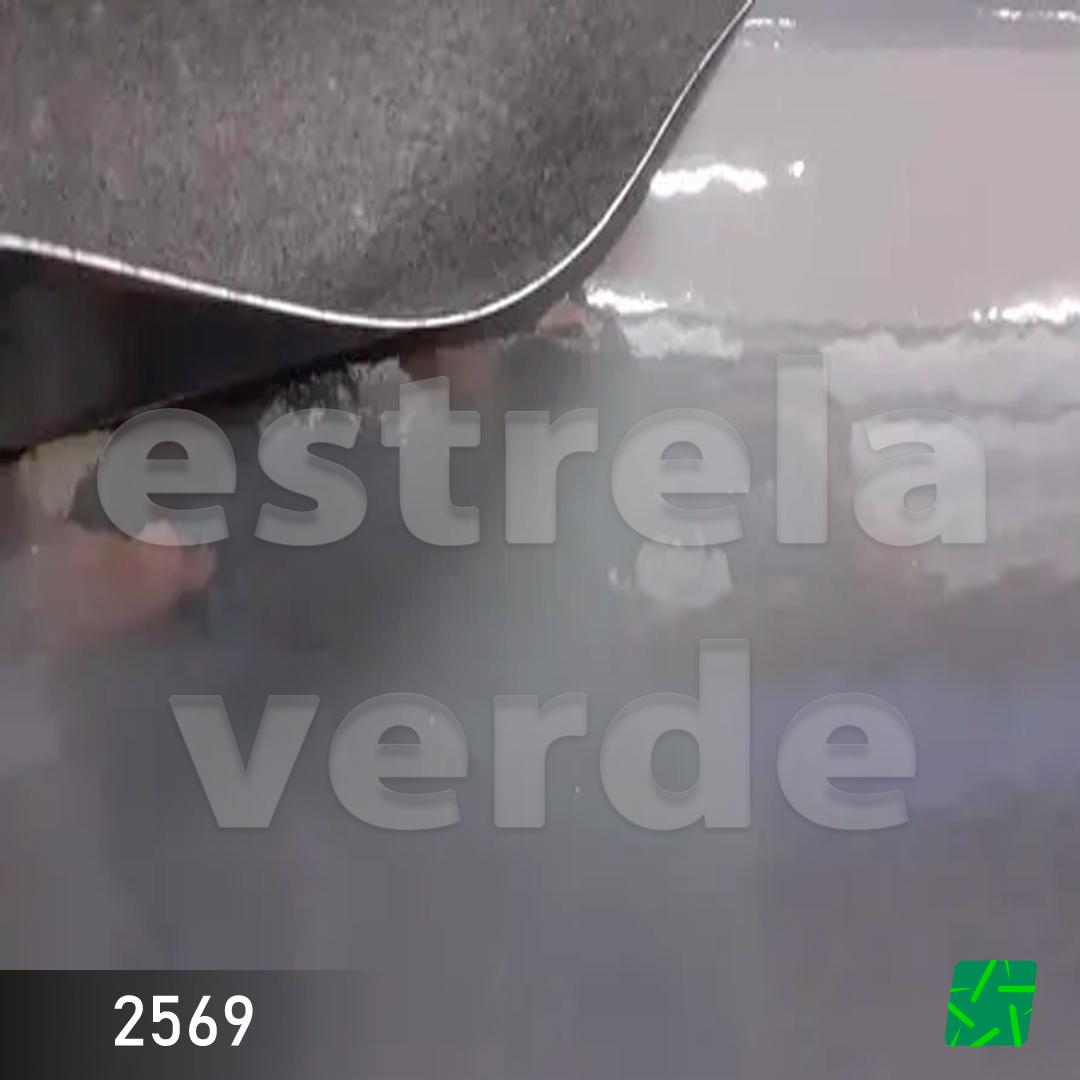 VERNIZ LISO CINZA COM FELTRO 0,90  - Estrela Verde