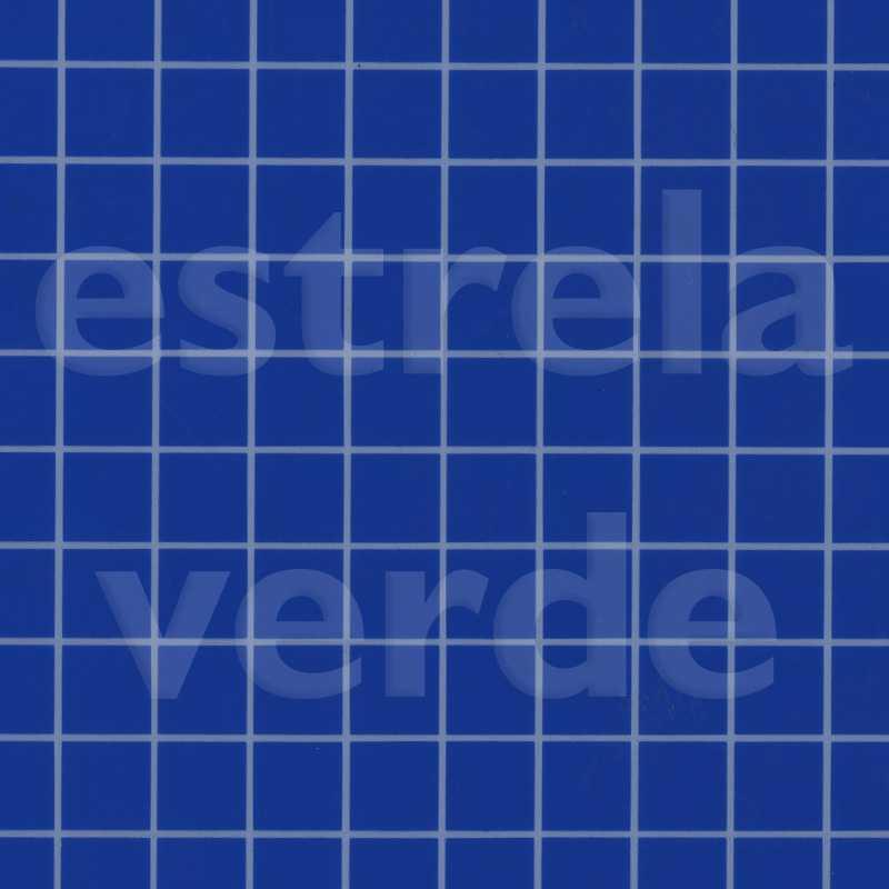 VERNIZ XADREZ AZUL/BCO COM FELTRO 0,95 DESCONTINUA  - Estrela Verde