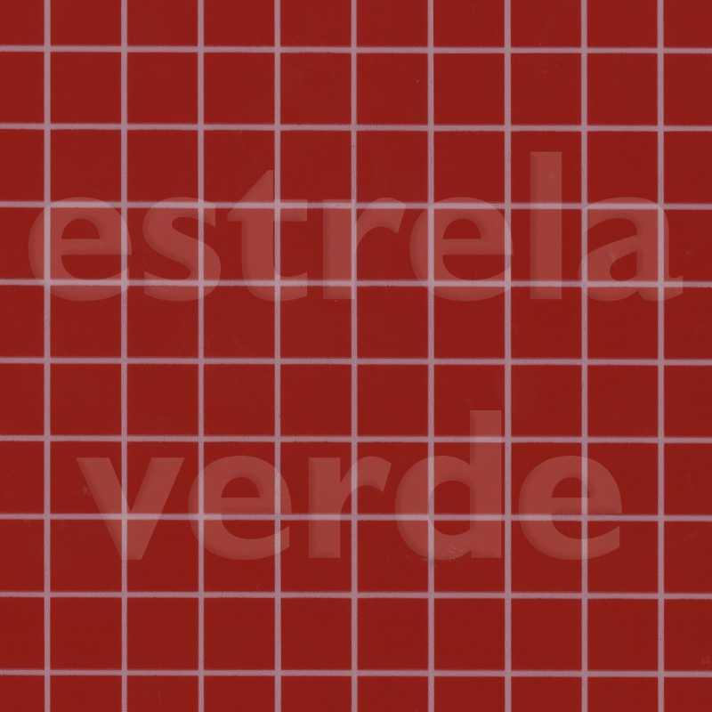 VERNIZ XADREZ VERMELHO/BCO COM FELTRO 0,95 DESCONT  - Estrela Verde