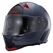 Capacete X11 Revo Vision Sv Cinza/ Vermelho