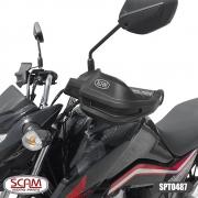 Protetor de Mão Scam - Titan 125/ 150/ 160 2009+ -Spto487